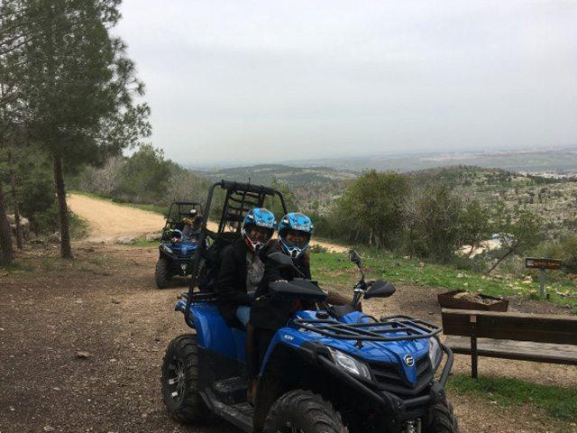 טרקטורונים באזור ירושלים