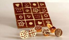 טבלת שוקולד - סדנת שוקולד